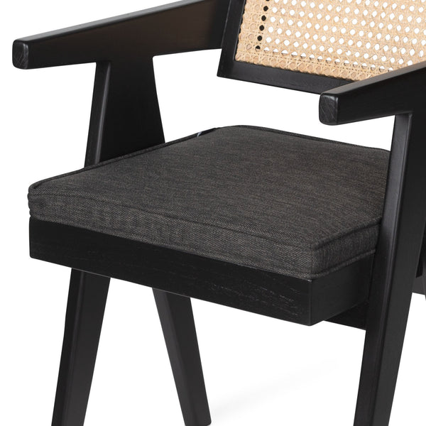 The Dining Chair with Armrests | Cushion