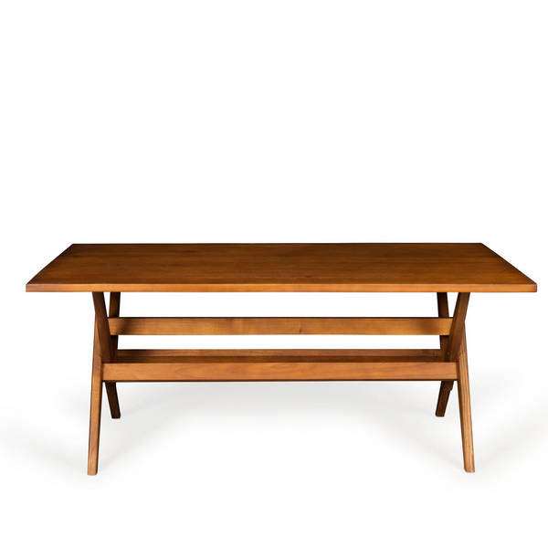 WTH Dining Table | Darkened Teak