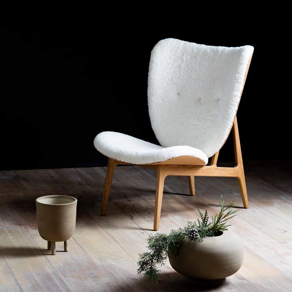 Elephant | Sheepskin Lounge Chair