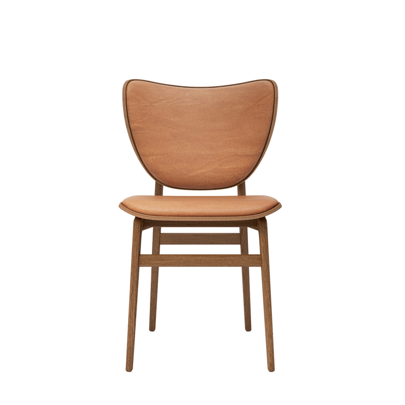 Elephant | Dining Chair With Vintage Leather Seat