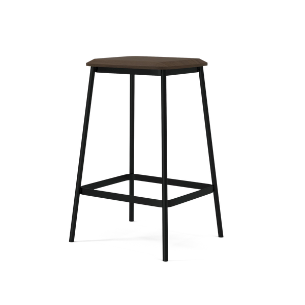 Facet | Low Bar Stool