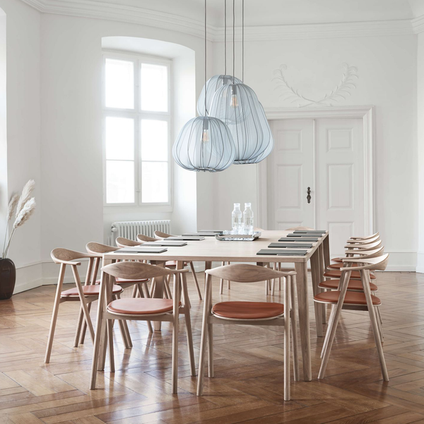 Graceful | White-oiled Oak Dining Table