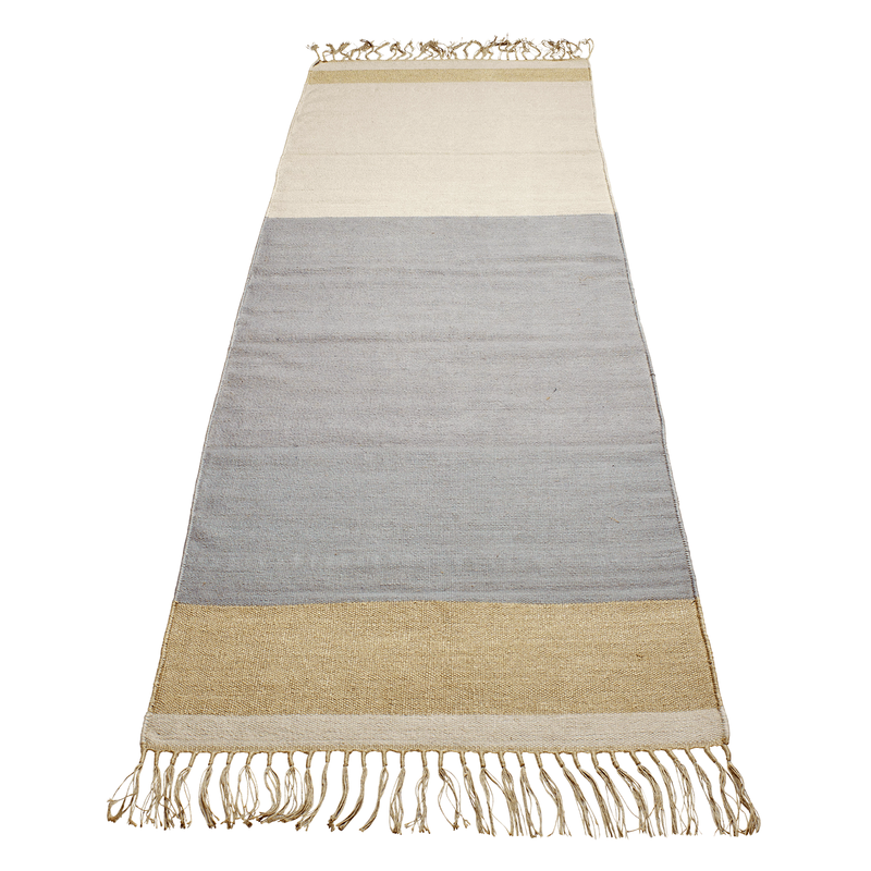 Leyton Light Blue | Long Rug