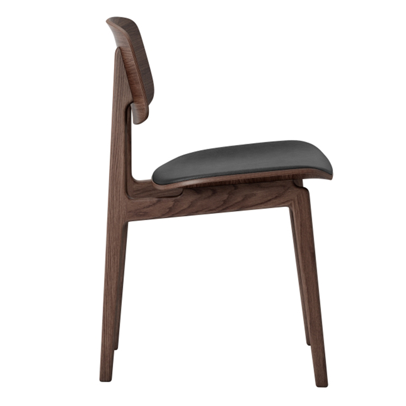 NY11 | Dining Chair With Leather Seat