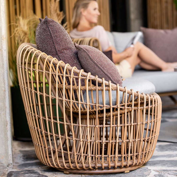 Nest | Round Outdoor Armchair