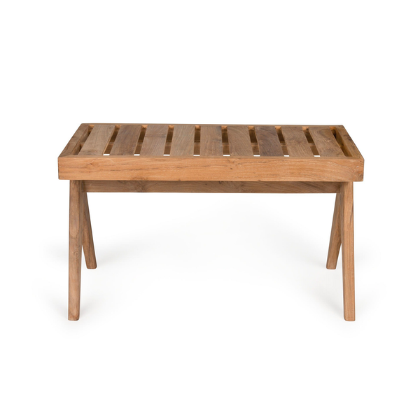 Outdoor Teak Bench | 2 Seater