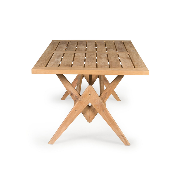 Outdoor 220 Table | Outdoor Teak Dining Table