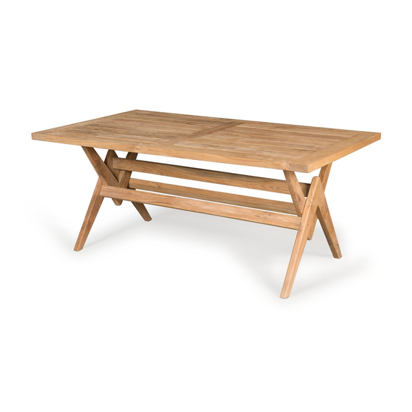 Outdoor 180 Table | Outdoor Teak Dining Table