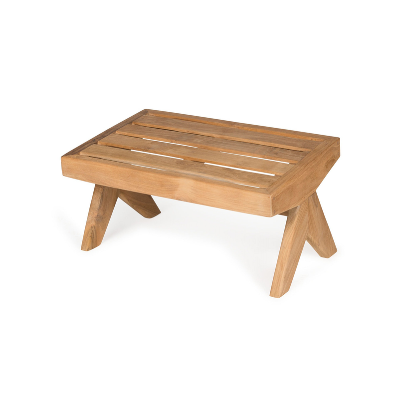 Kangaroo | Outdoor Teak Footstool