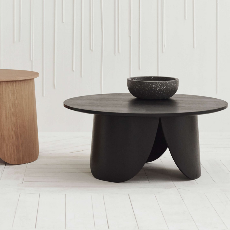 Peyote | Black Lacquered Oak Coffee Table