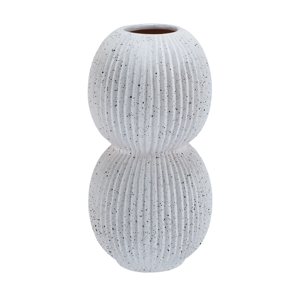 Plissé | Bubble Porcelain Vase