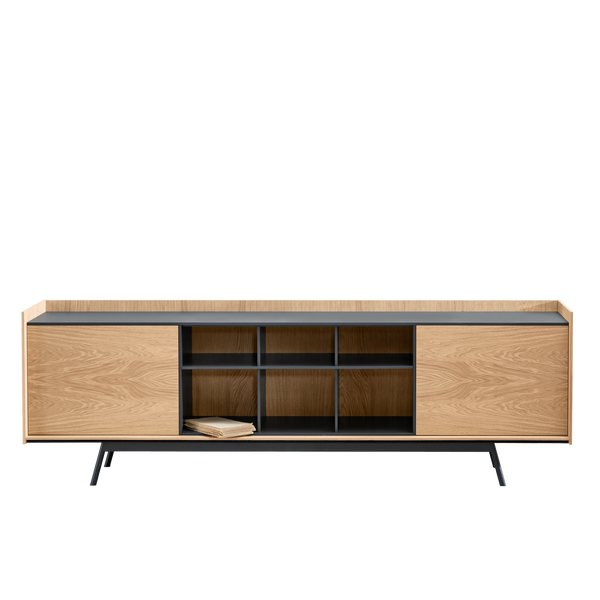 Edge | Flamed Oak Cabinet