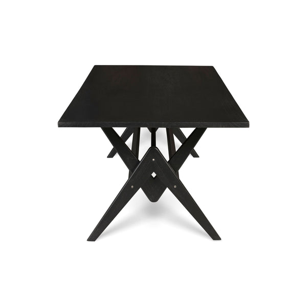 WTH 220 Dining Table | Charcoal Black