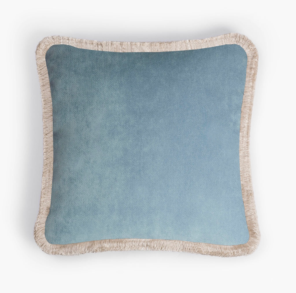 Happy Pillow Light Blue
