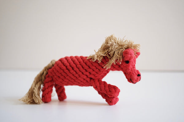 "Icelandic Horse ""Alf"" Cotton Rope Toy"