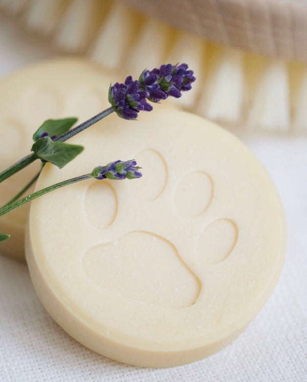 Lavender & Tea Tree Oil Alpaca Keratin Dog Soap