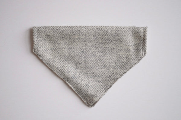 Tweed Bandana Light Grey