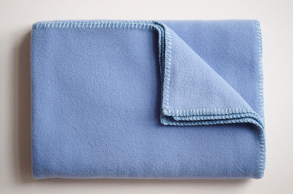 Dog Blanket Soft Fleece Dusky Blue