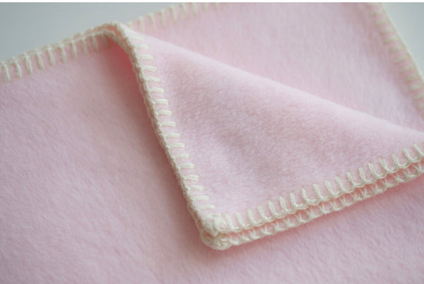 Dog Blanket Soft Fleece Rose