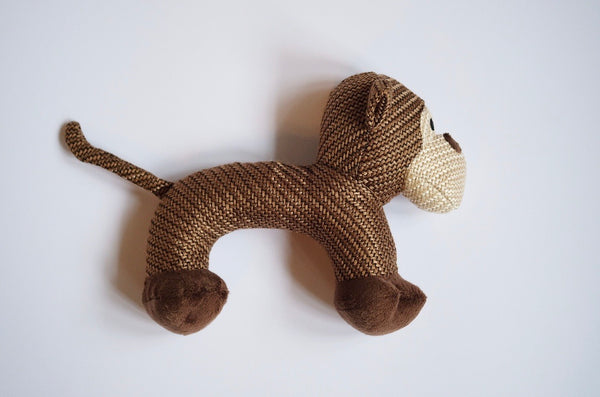 "Monkey ""Charly"" Dog Toy"