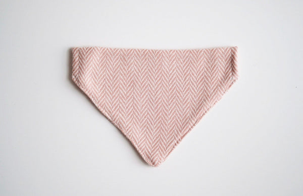 Tweed Bandana Rose