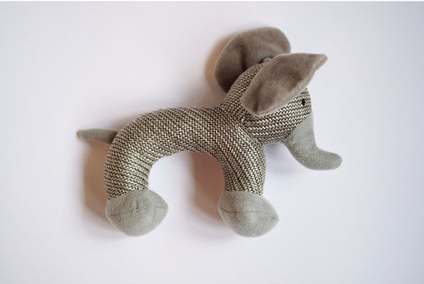 "Elephant ""Otto"" Dog Toy"