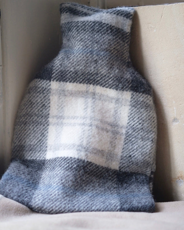 Pure Wool Hot Water Bottle Cottage