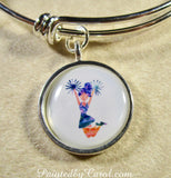 Cheerleader Bangle Bracelet