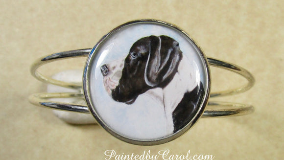 Great Dane Cuff Bracelet