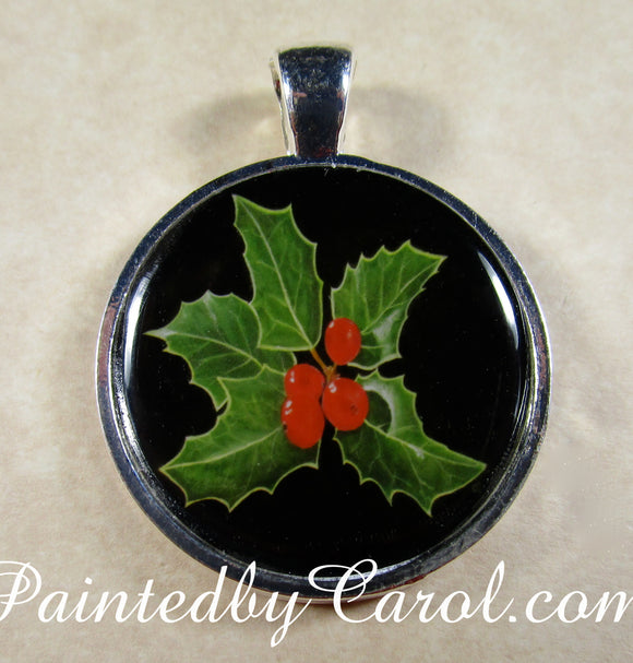 Holly Pendant
