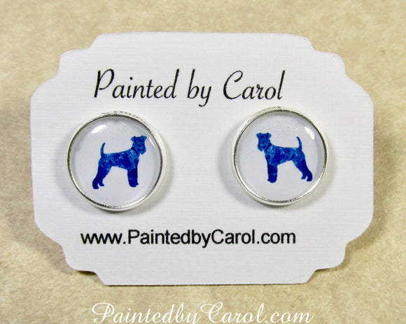 Airedale Earrings