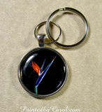 Bird Of Paradise Keychain