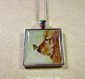 Golden Retriever Pendant