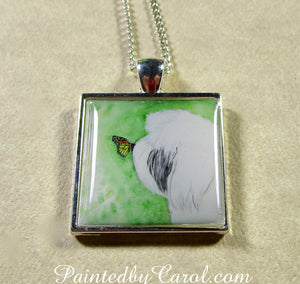 Old English Sheepdog Pendant
