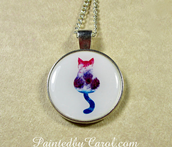 Calico Cat Pendant
