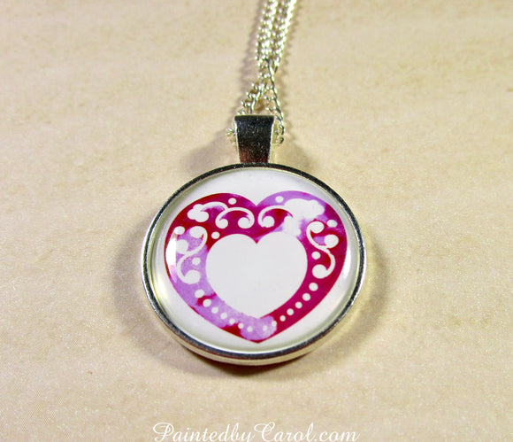 Lace Heart Pendant