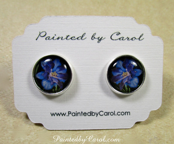 Larkspur Earrings