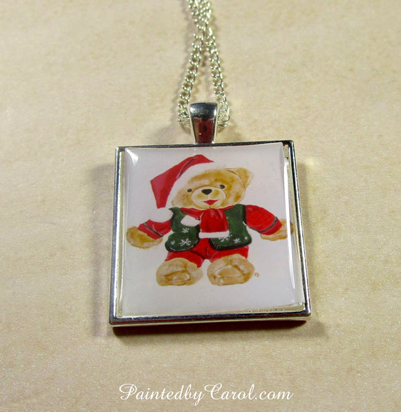 Mr Christmas Bear Pendant