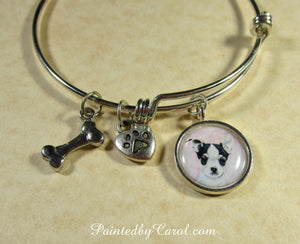 Chihuahua Puppy Bangle Bracelet