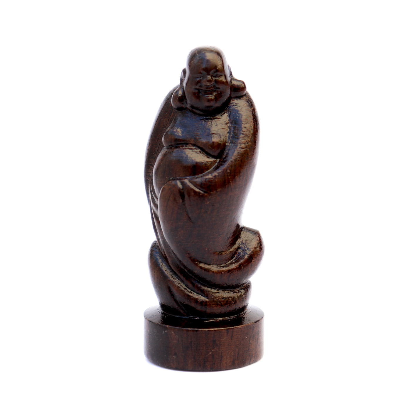 Wooden Buddha Statue - Hand-carved - Meditation Statues