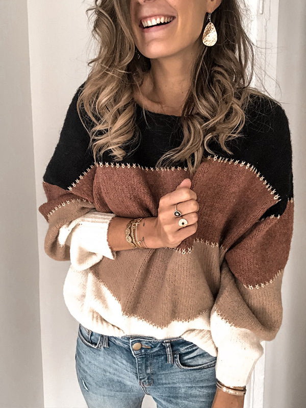 Pullover Long Sleeve Casual Sweater