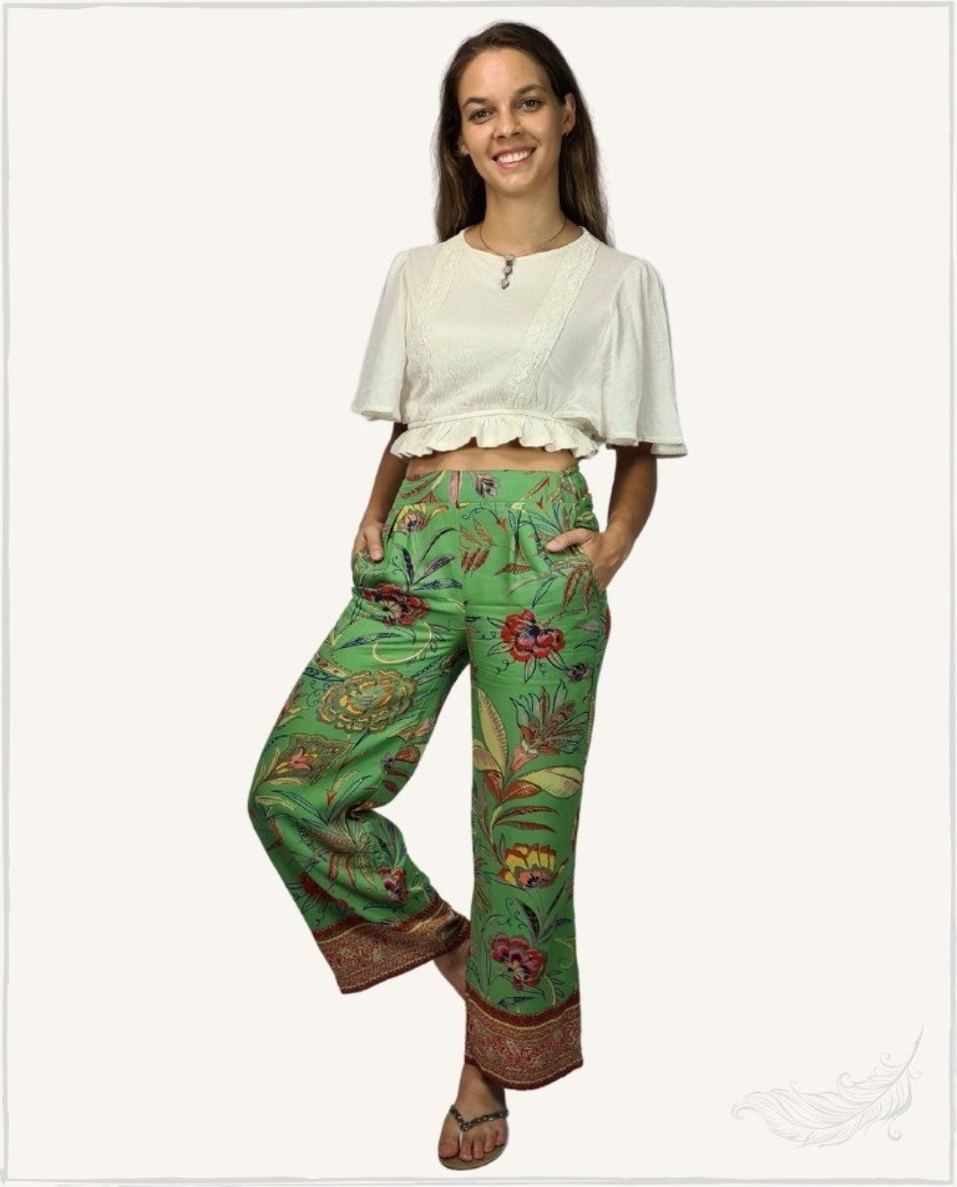 Sally Petite pants - WillowTribe