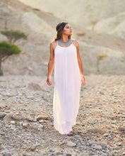 Load image into Gallery viewer, Fairy Silk Maxi Dress (White)