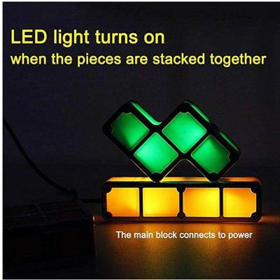 LED STACKABLE DESK LAMP/NIGHT LIGHT - Stack It Your Way!