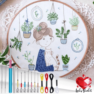 PunchCraft Denim Embroidery Kit