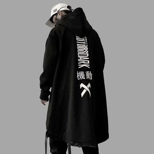 US Size Sweatshirts Men Harajuku Streetwear Long Hoodies Autumn 2019 Fashion Casual Hip Hop Male Jacket Oversize Cotton DG24