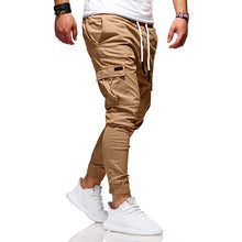 Hot Men Sport Pant Long Trousers Solid Male Fashion Tracksuit Fitness Workout Gym Sweatpants