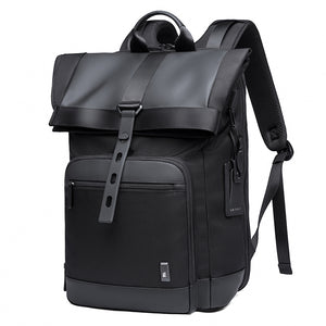 Tangcool Men Fashion Backpack Multifunctional Waterproof Backpack Daily Travel Bag Casual School Rucksack for Unisex