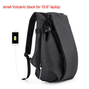 "Open image in slideshow, Tangcool Brand Casual Travel Backpack 15.6"" 17.3"" laptop Men Waterproof New Fashion School USB Charging Teenager Luggage Bags"