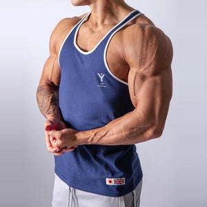 2020 Summer JP&UK Brand Mens Running Vest Gym Sleeveless Shirt Slim Fit Tank Men Sport Vest Tops Workout Training Man Singlet